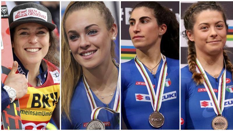 Federica, Letizia, Elisa e Miriam: sorelle d'Italia
